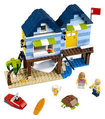 100 Le Pines US 2792 30 OFFLEPINES City Creator 3 In 1 Beachside Vacation Building Blocks Bricks Figure Kids Model Toys For Childrenin Blocks From Toys