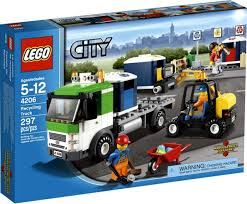 100 Lego Recycling Truck LEGO City Exclusive Set 4206