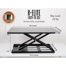 Office Max Stand Up Computer Desk by X Elite Pro Sit Stand Standing Desk Stand Steady
