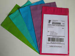Decorative Flat Poly Mailers by Theshippingguru Exclusive 100 6x9 Colored Poly Mailers