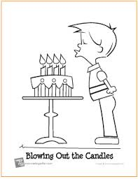 Blowing Out the Candles Birthday