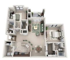 104 Two Bedroom Apartment Design 52 Creative Plans Ideas Roundecor Layout Floor Plans