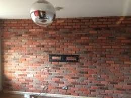 brick effect wall tile vintage 18th century reclaimed look