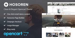 Nulled Hosoren Elegant Responsive Opencart Theme Free Download