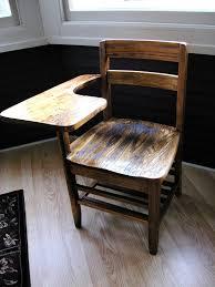 antique vintage 1940 s oak school desk chair things i like from