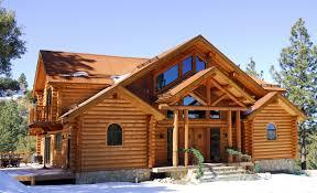 maison en bois rond maison moderne