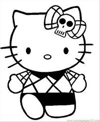 Hello Kitty Coloring Pages Online For Adults