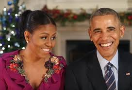 WASHINGTON President Barack Obama And First Lady Michelle Wished Americans A Merry Christmas For The Last Time From White House During