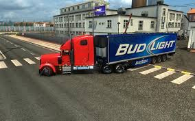 100 Bud Light Truck BUD LIGHT 122 GamesModsnet FS19 FS17 ETS 2 Mods
