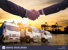 100 Truck And Transportation Logistics And And Cargo Ship With Business