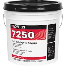 Cork Wall Tiles Home Depot by Roberts 4 Gal Pail Of Pro Grade Cork Underlayment Adhesive 7250 4