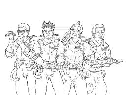 Awesome Ghostbusters Coloring Pages 98 For Seasonal Colouring With