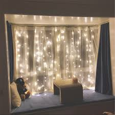 Icicle Lights In Bedroom by Amazon Com Twinkle Star 300 Led Window Curtain String Light For