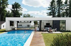 100 Photos Of Pool Houses Modern Design By Dwell From Piscinas Y Exteriores In