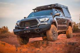 100 Tacoma Truck Cap DECKED Featured In Overland Journals Ultimate Build