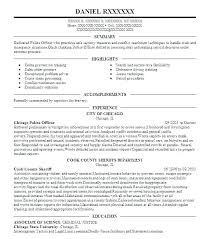 Dispatcher Resume Objective Police Emergency