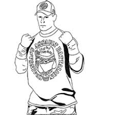 15 Best John Cena Coloring Pages For Your Little Ones