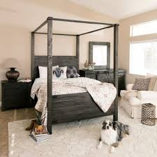 Queen Canopy Bedroom Set