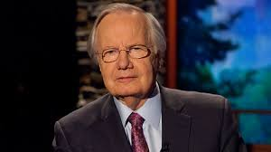 Bill Moyers On The Set Of Company In 2013