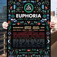 2016 Lineup Poster Euphoria Music Camping Festival