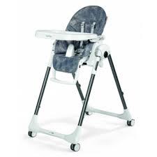 Prima Papa Zero 3 High Chair - Denim