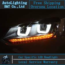 car styling vw polo headlights volks wagen polo gti led headlight