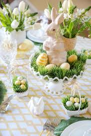 Easter U Place Setting Ideas Pizzazzerie Easy Spring Table Decorations