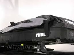 coffre de toit thule ranger 90 thule ranger 90 cargo bag demonstration cutehowto how to