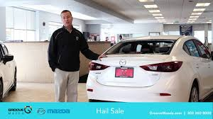 Groove Mazda Car Dealer Hail Sale - YouTube Hail Damage Car Stock Photos Images Alamy Sale Tradein Days At Prestige Ford In Garland Randall Repair Bronx Yonkers Mhattan Wchester New York Huge Sell On Damaged Vehicles Phil Long Denver Businses And Residents Clean Up After Hail Storm Chat Television Denny Menholt Chevrolet Blog Chevy Trucks Cars Billings Mt How To Prevent Damage Your Car So This Just Happened Carhauler Versus Freak Hailstorm Graphic F150 Forum Community Of Truck Fans Need Input Repairing Fj Toyota Cruiser