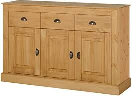 de sideboard kiefer massivholz wohnzimmerschrank