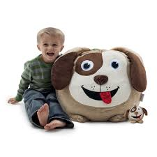 Dawson The Dog With Lil Buddy Bagimals Bean Bag
