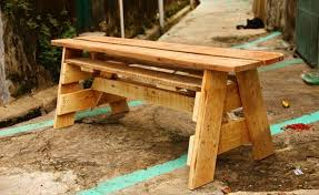 wooden pallet garden bench plans pallet wood projects