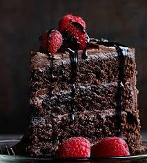 the chocolate cake