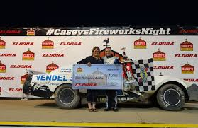 100 Nascar Truck Race Results JONATHAN TAYLOR AND EARNIE WOODARD WIN FIREWORKS SPECIAL AT ELDORA