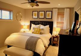Elegant Carpeted Bedroom Photo In Dallas With Beige Walls