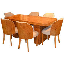Art Deco Cloud Dining Table And Chairs By Epstein