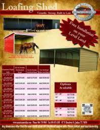 loafing shed kits oklahoma steel loafing sheds affordable metal loafing storage shed