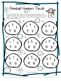 Halloween Brain Teasers Worksheets by Winter Activities Winter Math Games Puzzles And Brain Teaser
