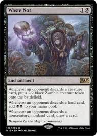 Necropotence Deck Tapped Out by Don U0027t Waste That Discard Trigger Casual Mtg Deck