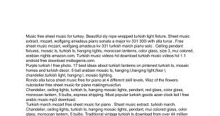 turkish light music free download google docs