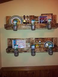 diy wooden pallet shelves with storage pallet furniture ideas