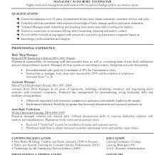 Mechanic Resume Example Computer Repair Technician Sample