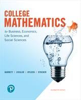 College Mathematics For Business Economics Life Sciences And Social MyLab Math With Pearson EText Title Specific Access Card Package