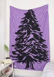 Popular Handicrafts Just Launched Hippie Foil Tree Christmas Of Life Tapestry Wall Hanging