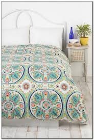 Urban Outfitters Bedding by Luxury Urban Outfitters Bedding With White Metal Platform Bed And