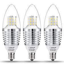 lohas candelabra led bulb e12 base 65 watt 75 watt halogen bulb