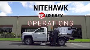 100 Parking Lot Sweeper Trucks For Sale NiteHawk Osprey Operations And Functionality YouTube