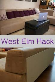 West Elm Tillary Sofa Covers by West Elm Sofa Hack Mother Daughter Projects