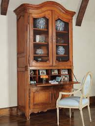 Antique Secretarys Desk by Furniture Brown Secretary Desk With Hutch With Drawers And Small