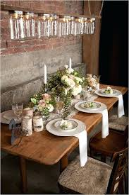 Simple Rustic Wedding Table Decorations Decor Accents